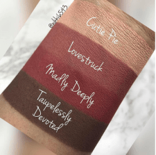Looxi Beauty Spring Mattes Swatches