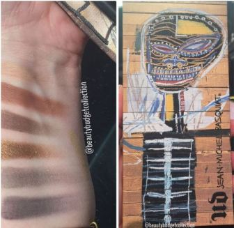 Urban Decay x Jean-Michael Basquiat Gold Griot Swatches 2