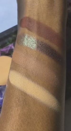 Makeup Addiction Smoked Out Palette Swatches