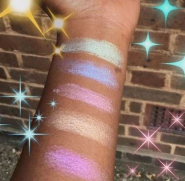 Sleek Makeup Distorted Dreams Highlighter Swatches