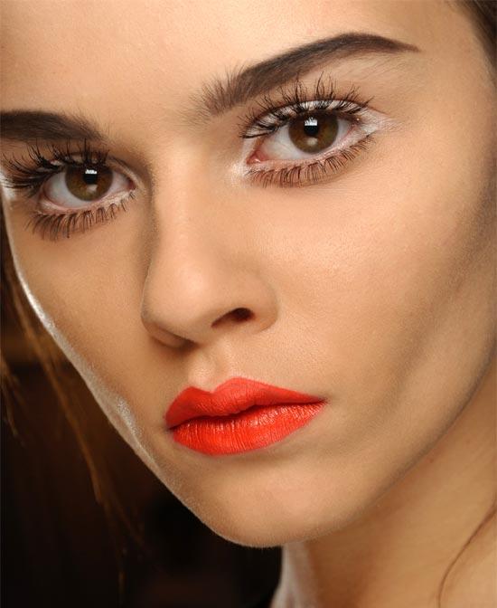 Maquiagem Por Tom Pecheux - Moschino 2013 Com Produtos MAC