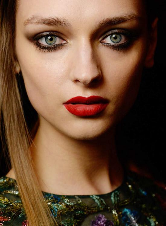 Monique Lhuillier A/W 2015 runway beauty