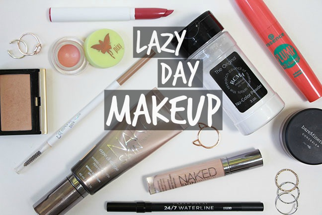 Quick Lazy Day Makeup Look Pulled Together With Minimal Effort Makeupguineapig