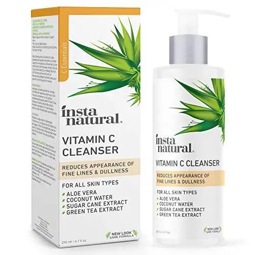 Vitamin C Facial Cleanser - Anti Aging