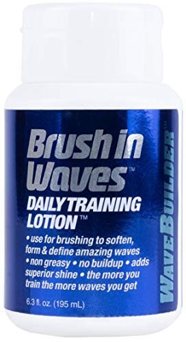 WaveBuilder Brush In Waves Daily Training Lotion,Non-Greasy Formula
