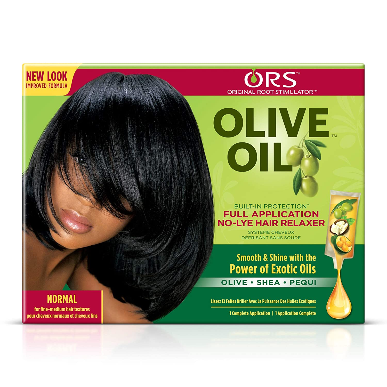 ORS Olive Oil Built-In Protection Full Application