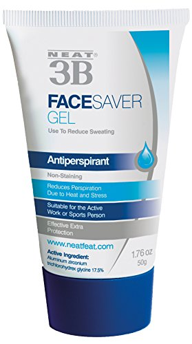 Neat Feat 3B Face Saver Antiperspirant Gel for Facial Perspiration and Shine