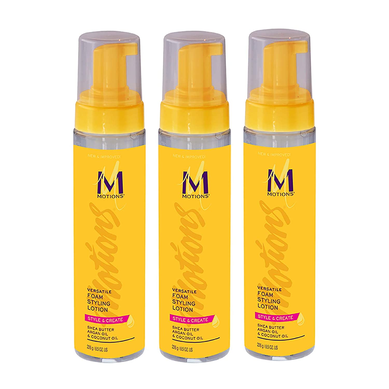 Motions Style and Create Versatile Foam Styling Lotion