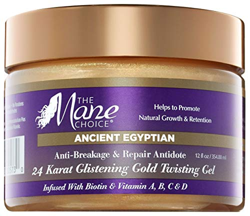 THE MANE CHOICE Ancient Egyptian 24 Karat Gold Twisting Gel