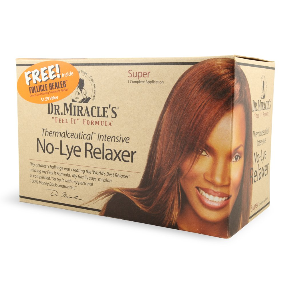 Dr. Miracle's Feel It Formula Thermalceutical Intensive No-lye Relaxer