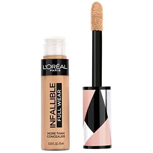 L'oréal Paris Makeup Infallible Full Wear Concealer, Full Coverage
