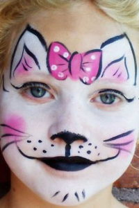 Sad Cat Makeup.