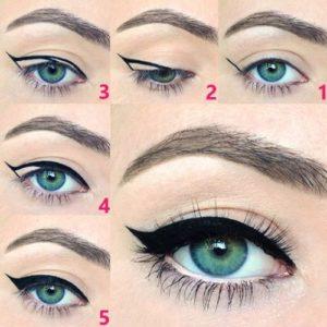 Skim Bagaimana untuk menggambar anak panah di hadapan mata