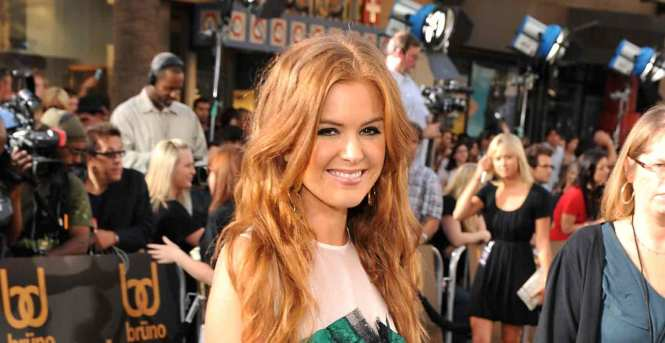 """Bruno"" Los Angeles Premiere - Isla Fisher"