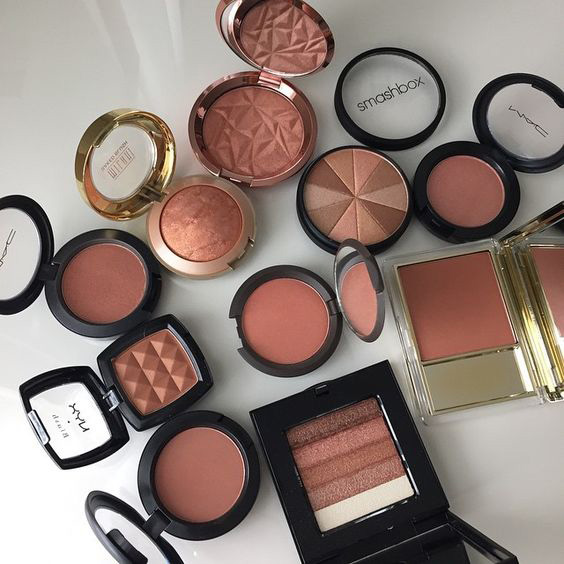 Mixing Blush and Bronzer
