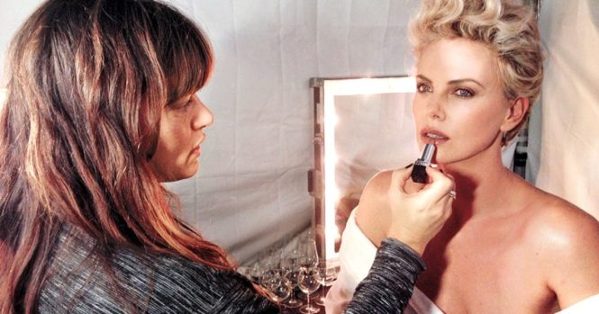 Patti Dubroff, Charlize Theron's makeup artist