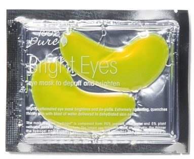 Bright Eyes Mask for when you feel sick and want to look good
