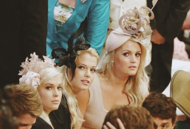 Royal Wedding Attire Spencer Sisters