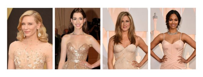 Neutral Skin Undertones Explained Anne Hathaway, Jennifer Aniston, Cate Blanchett and Zoe Saldana
