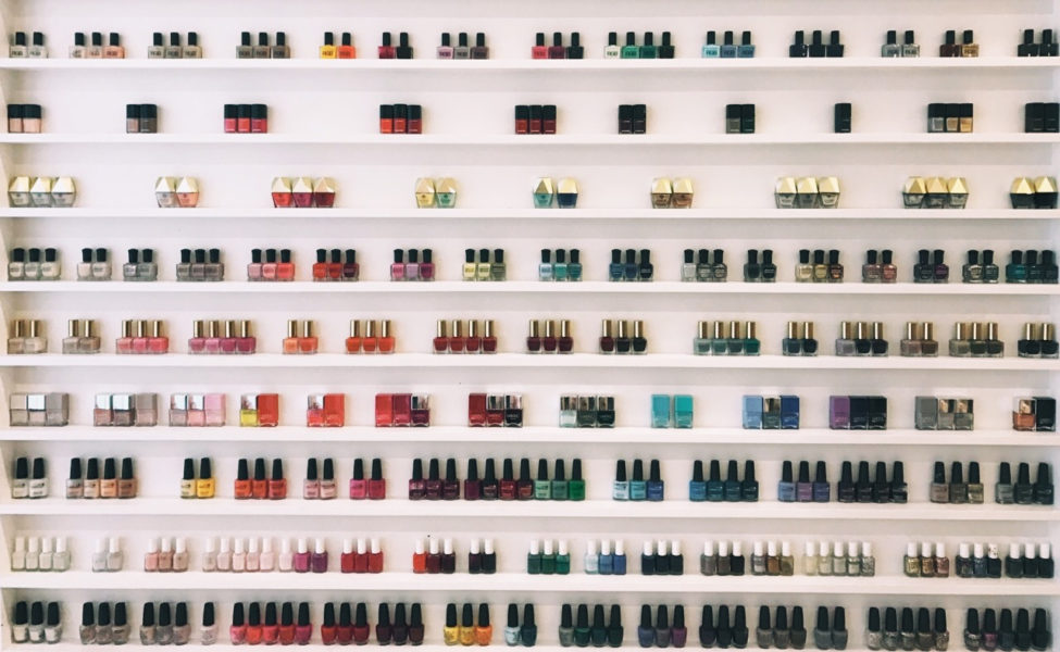 Olive & June Nail Bar Stress of Choosing Nail Polish Color