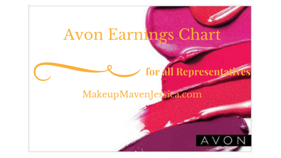 Avon earnings chart 2017 - How much do you make selling Avon?