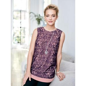 Avon Layered Lace Top