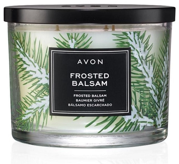 What's Hot? Avon Campaign 24 - Avon Frosted Balsam Scented Candle