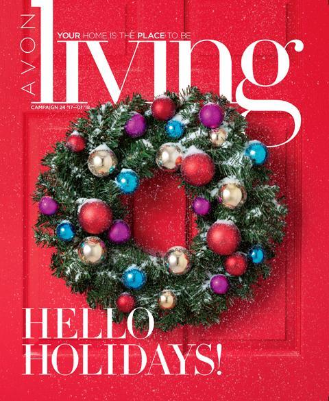 Avon Living Winter Brochure Campaign 24, 2017