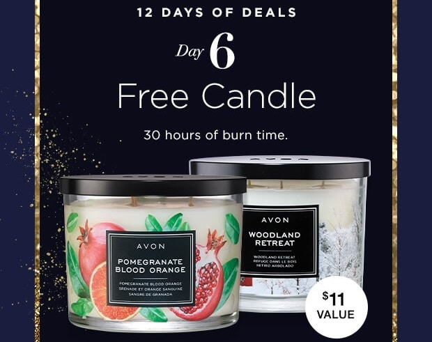 12 Days of Deals – Day 6 – Choice Of Fragrant Candles