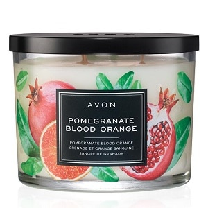 Pomegranate Blood Orange Scented Candle - Campaign 1, 2018