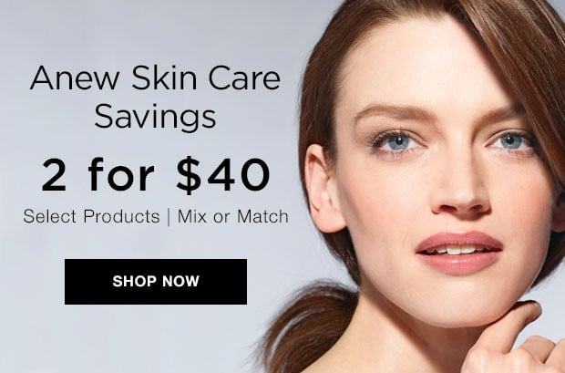Get Up To $40 Off Anew Skin Care!