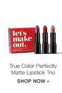 Avon True Color Let's Make Out Perfectly Matte Lipstick Trio - Valentine's Day