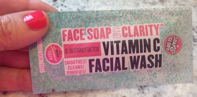 Soap and Glory Face Soap and Clarity Vitamin C Facial Wash review