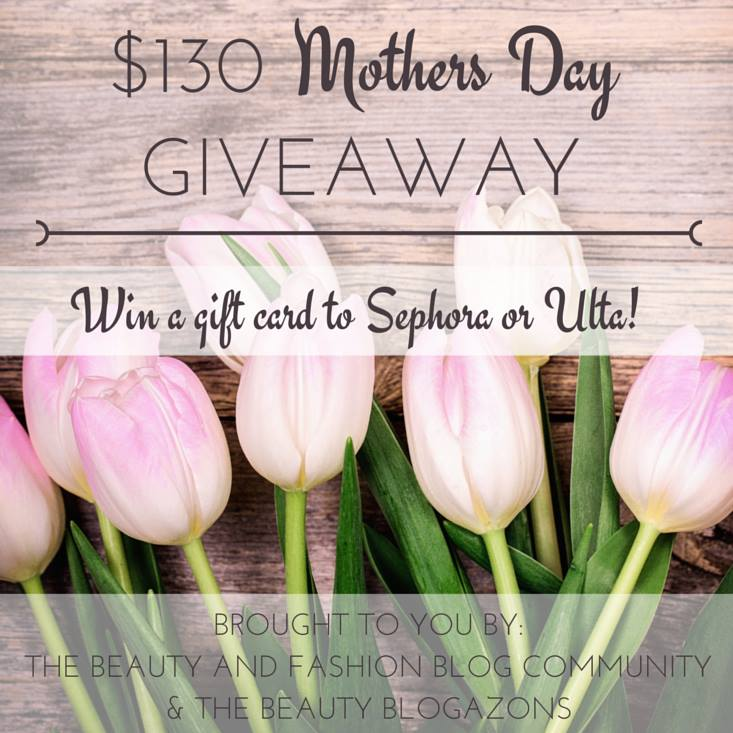mothers day giveaway, gift card, Ulta, Sephora