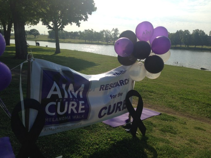 AIM at Melanoma Walk Dallas 2015