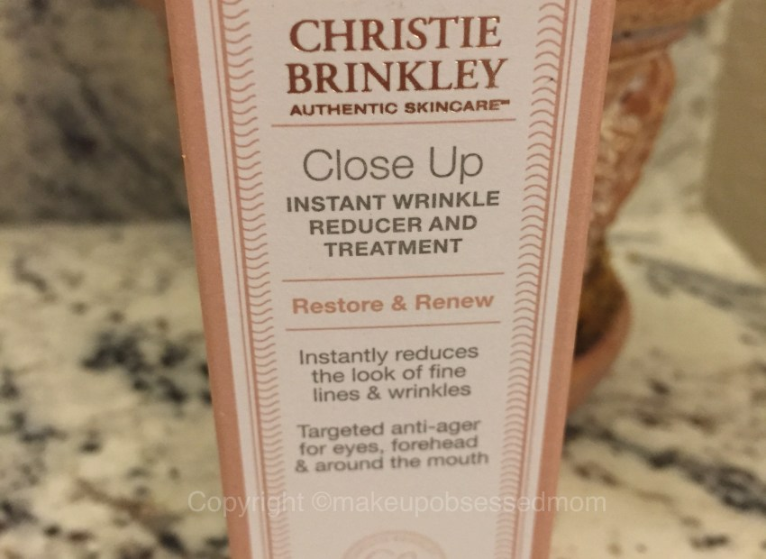Christie Brinkley Close-Up review