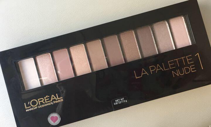 L'Oreal La Palette 1 Nude