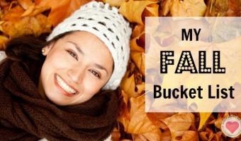 My Fall Bucket List
