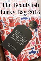 Beautylish Lucky Bag contents 2016