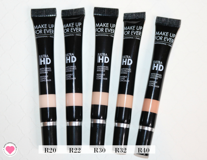 Make Up For Ever Corrector shades