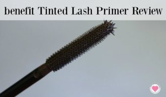 Longer Looking Lashes with Benefit Primer