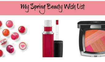 spring beauty wish list