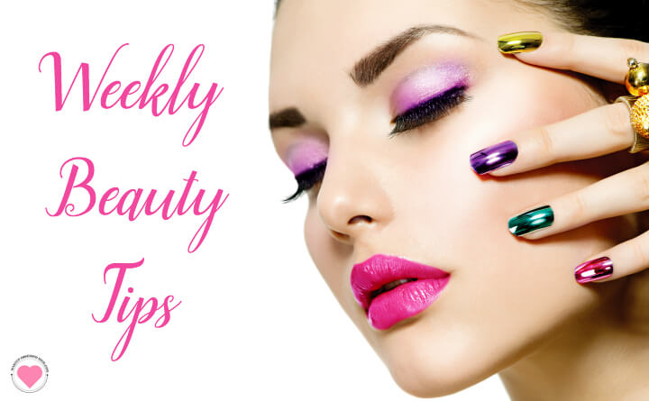 weekly beauty tips