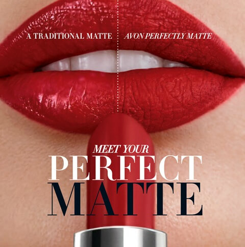 Avon perfectly matte lipstick review