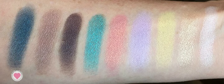 Make Up For Ever Artist Palette 3 swatches