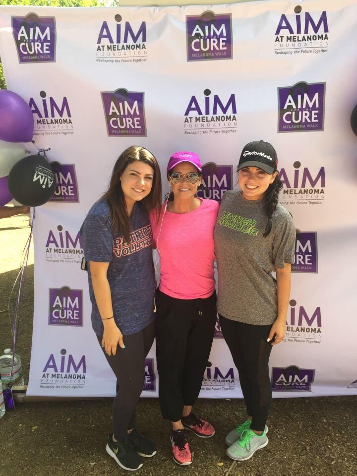 AIM at melanoma walk dallas