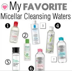 best micellar cleansing waters