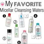 best micellar cleansing waters