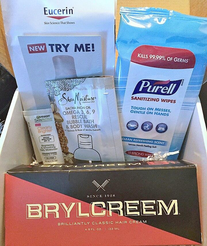 health and beauty sample box