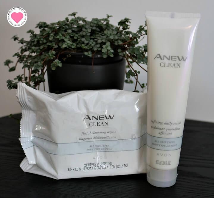 Avon Anew Clean skincare